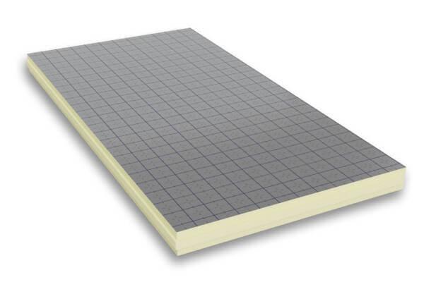 Płyta PIR w okładzinie aluminiowej
